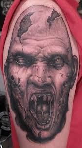 Zombie Nurse Tattoo Designs