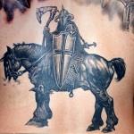 Savascı dovme warrior tattoo 4