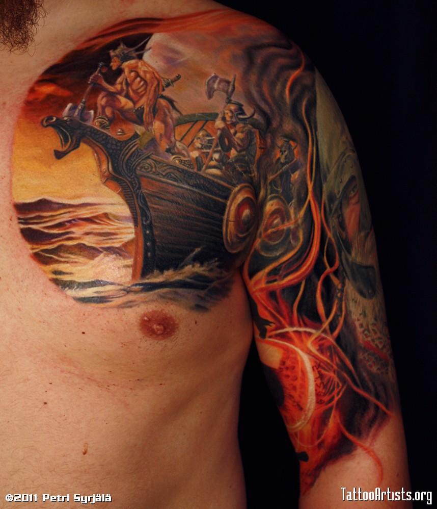 Viking Tribal Tattoos: Viking « Tattoo Casper
