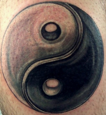 Ying yang tattoo casper for Yin yang meaning tattoo